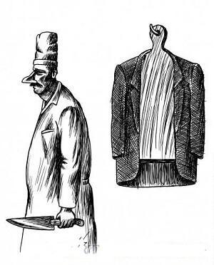 анекдот картинка про пиджак и рубашку