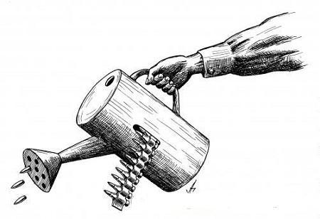 анекдот картинка про ружье и патроны