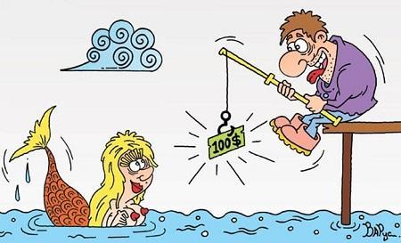 анекдот картинка про рыбалку