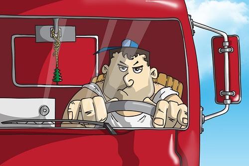 Анекдоты – картинки про грузовики и дальнобойщиков