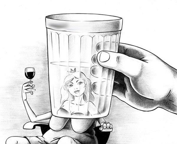 анекдоты про девушек и водку