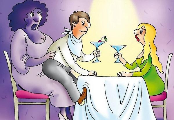 анекдоты про маму и мужика