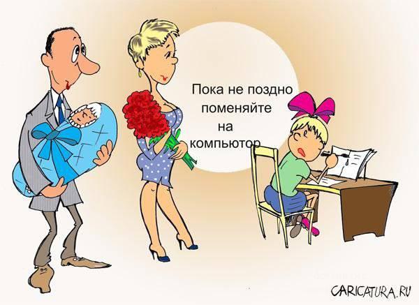 анекдоты про маму и родителей