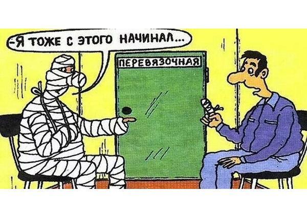Анекдоты про палец и человека