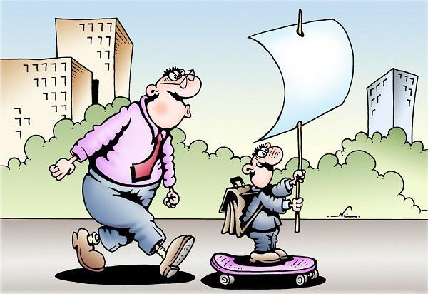 анекдоты про ребенка и класс