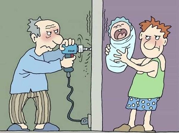 Анекдоты про соседей и человека