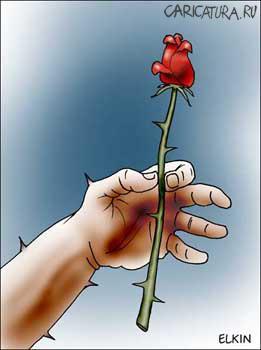 анекдот картинка про цветы