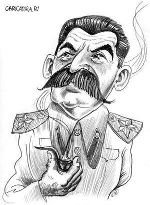 анекдот картинка про сталина