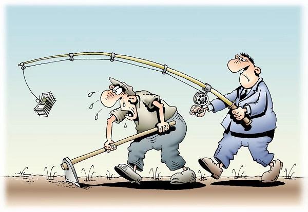 анекдоты про человека и труд