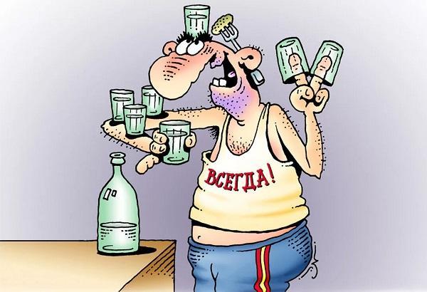 анекдоты про пьяного мужика