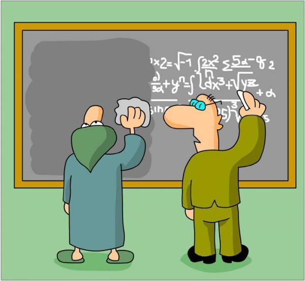 анекдоты про ученых и человека