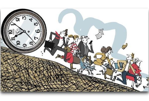 анекдоты про время и проблемы