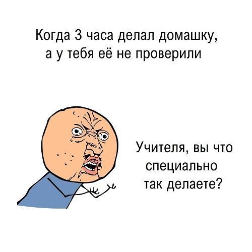 Мемы школа