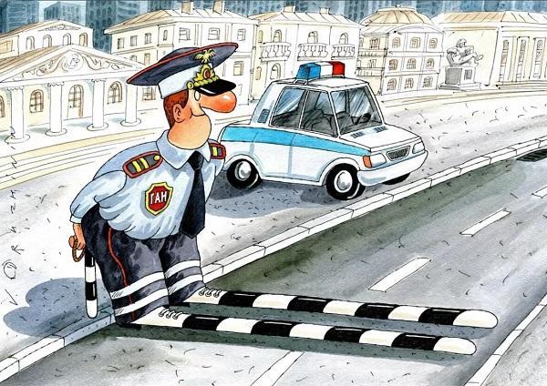 Анекдоты про дороги и гаишников