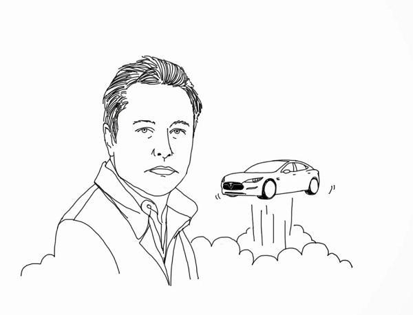 Анекдоты про Илона Маска