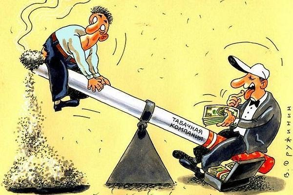 Анекдоты про курение и курильщиков