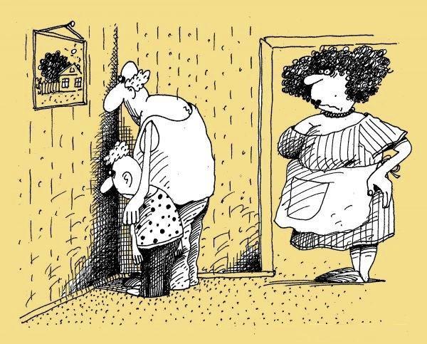 Анекдоты про маму и комнату