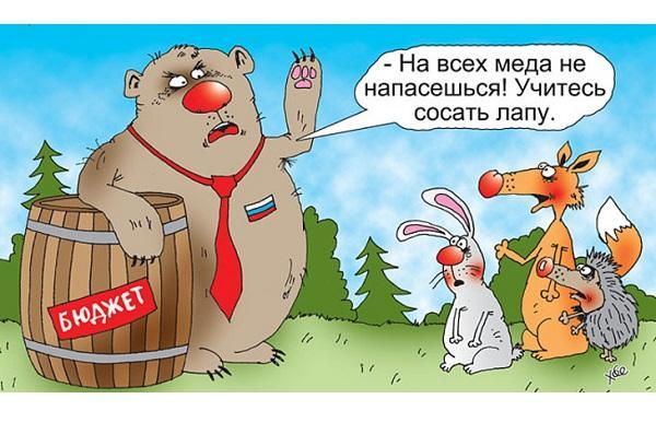 Анекдоты про медведя и лапу