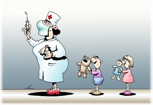 Анекдоты про врача и ребенка