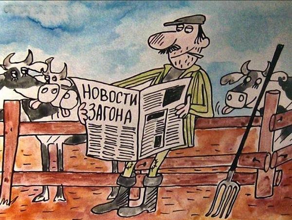 Смешные анекдоты из деревни