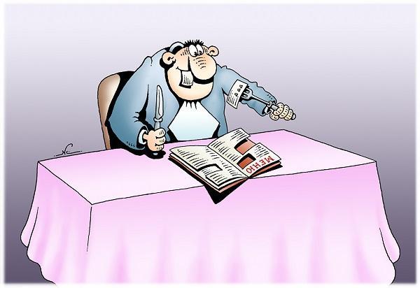 Анекдоты-картинки - смешные карикатуры