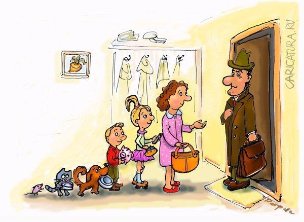 анекдоты про маму и дверь