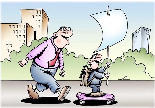 Новые анекдоты в карикатурах