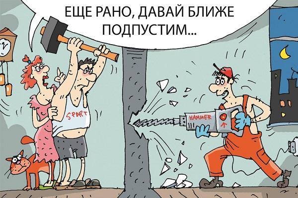 Смешные анекдоты и шутки в карикатурах