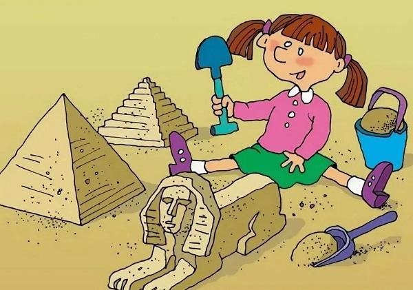 анекдоты про девочку в песочнице