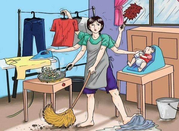анекдоты про маму и дела