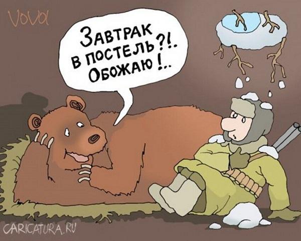Read more about the article Анекдоты про медведя и охотников