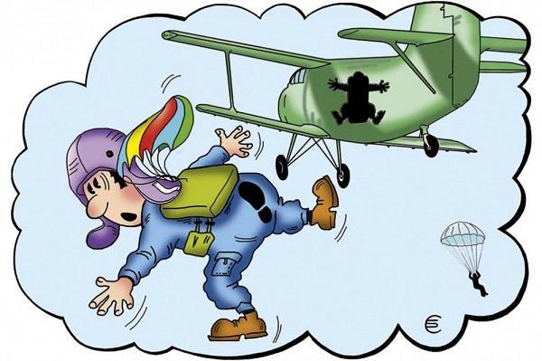 Read more about the article Анекдоты про самолеты и парашюты
