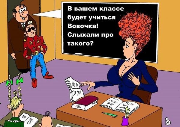 Read more about the article Анекдоты про Вовочку и вопросы