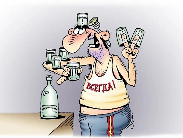 анекдоты про пьяных и руки