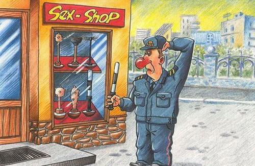 Анекдоты - картинки про улицу